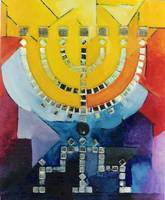 MENORAH IN YELLOW