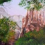 """Zions Canyon # 3"" by MariaHathaway"
