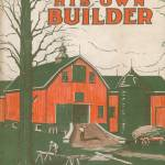 """1918 Farmer/Builder Book Jacket; art by"