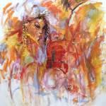 """Geisha and The Samurai"" by Reynaldo"
