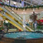 """""Mega center"" interior fountain. Almaty city"" by secondarysense"