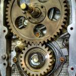 """Ural Engine Timing Case - HDR Image"" by jasonscottmeans"