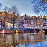 """Colorful houses in Amsterdam - HDR"" by mfpierre"