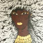 """Supersonic Soul Sista Colene"" by Tonyvincentart"
