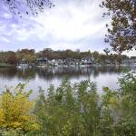 """Philadelphia Boat House Row - In the Fall"" by Philadelphia_photographer"