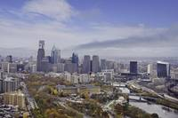 New Philadelphia Fall Skyline Photo