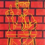 """(Malcolm X) In the Beginnig"" by sharramharvin"