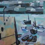 """St Ives Harbour , Cornwall"" by davidpott"