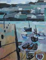 St Ives Harbour , Cornwall