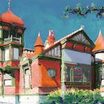 """Villa Montezuma San Diego by RD Riccoboni"" by BeaconArtWorksCorporation"