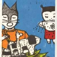 Animal Onigiri Fantasia Art Prints & Posters by Ayu Tomikawa