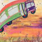 """""""Ride on the Magic Metro Bus."""" by Gracie"""