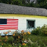 """Old Glory Country Fresco"" by John Kapusta"