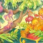 """koalas and lion"" by HSoodak"