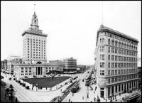 Oakland City Hall, 1917 by WorldWide Archive
