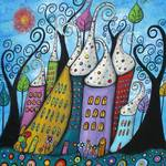 """The Joyful Town"" by juliryan"