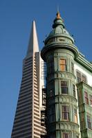 Transamerica & Coppola Buildings in San Francisco