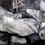 """""""Dreams: Defenseless"""" by judeharzerfineart"""