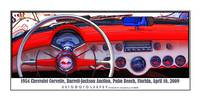 1954 Chevrolet Corvette Cockpit