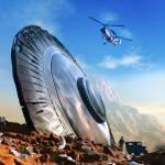 """Arizona UFO crash"" by AlexTomlinson"