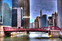 Vivid Chicago River