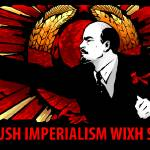 """crush imperialism"" by Alexius"