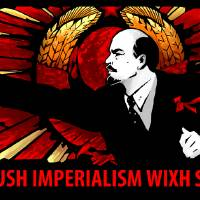 crush imperialism Art Prints & Posters by Vitaly S Alexius