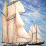 """The Great Chesapeake Bay Schooner Race"" by billwright"