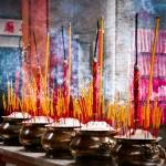 """temple Incense...Saigon, Vietnam"" by mjphoto-graphics"