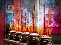 temple Incense...Saigon, Vietnam