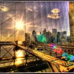 """Brooklyn Bridge, NY"" by Bho-cha"