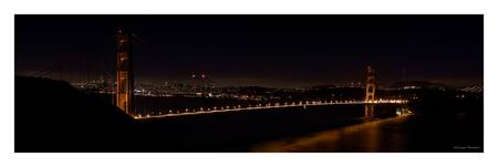 Golden Gate Bridge by night - San Francisco