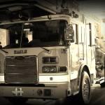 """""""Eagle Fire Ladder Truck"""" by DebbiePruett"""