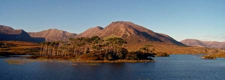 Derryclare and the Bens,Connemara,Ireland