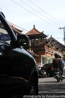 busy street in Ubud