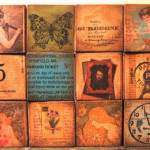 """altered art collage blocks"" by DOTTYP"