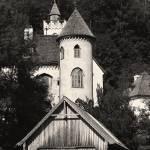 """Hallstatt - Lakeside castle"" by LefflerPhotography"