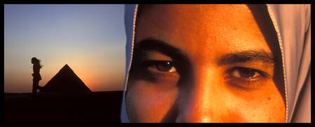 Eyes of the World Luxor Egypt