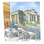 """New Bedford Library & Car of Justice"" by wlddlw"