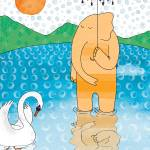 """Elephant with umbrella"" by lukaluka"