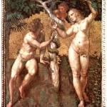 """""""Adam and Eva Stanza della Segnatura"""" by ArtLoversOnline"""
