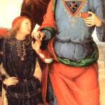 """Archangel Raffael and Tobias"" by ArtLoversOnline"