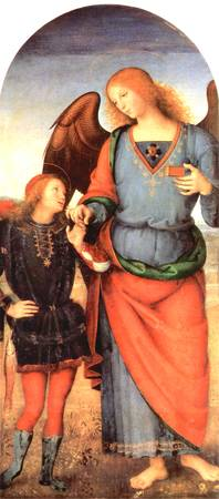 Archangel Raffael and Tobias