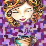 """Curls and Coffee Swirls"" by bryanc"