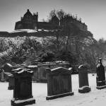 """Graveyard below Edinburgh Castle"" by JimMonan"