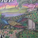 """peacock"" by JacquelynBraxton"