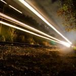 """I hear the train a comin"