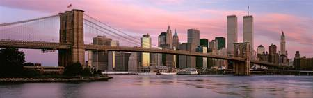 Brooklyn Bridge, Morning 2000