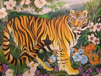 Tigress in the Teagarden