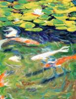 Koi in the Gardens by RD Riccoboni™